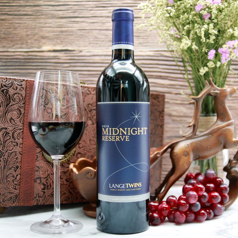 兰格双胞胎珍藏红葡萄酒